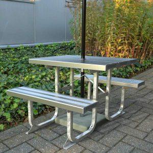 Standard Aluminium picnic Table 1000mm