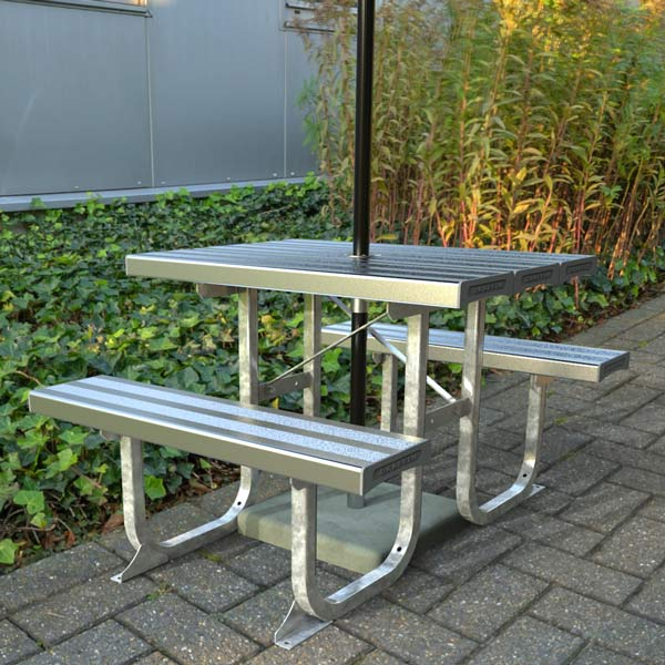 Standard Aluminium picnic Table 1000mm