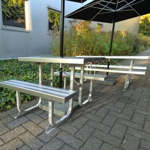 Standard Aluminium picnic Tables