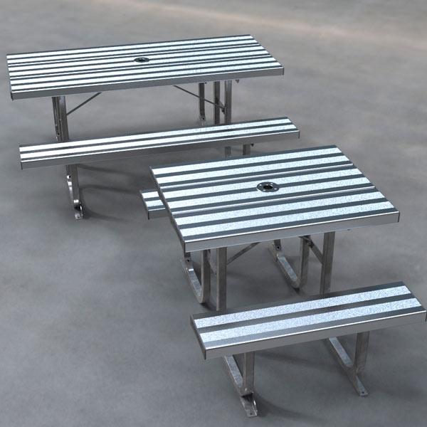 Standard Aluminium picnic Table