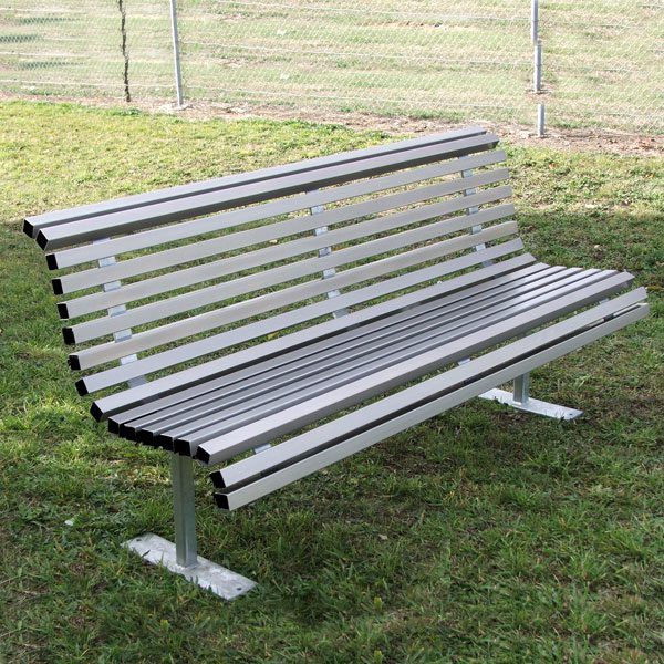 Curved Park Seat