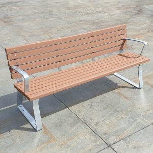 Kiama park seat with enviroslat battens