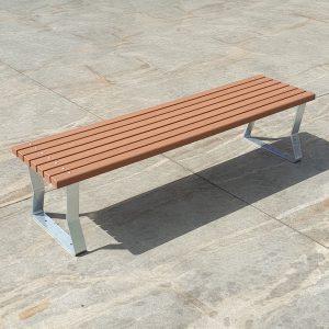 Freestanding Outdoor Bench
