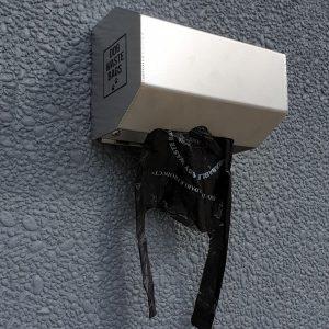 316 stainless steel bag dispenser