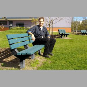 Kimberley Recycled Plastic Park Seat