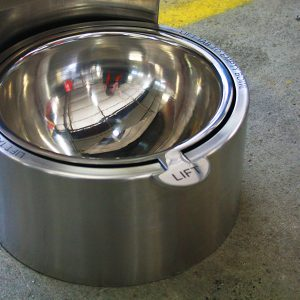Stainless drinking fountain dog bowl