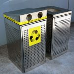 Garbage Bin Enclosures, Stainless steel
