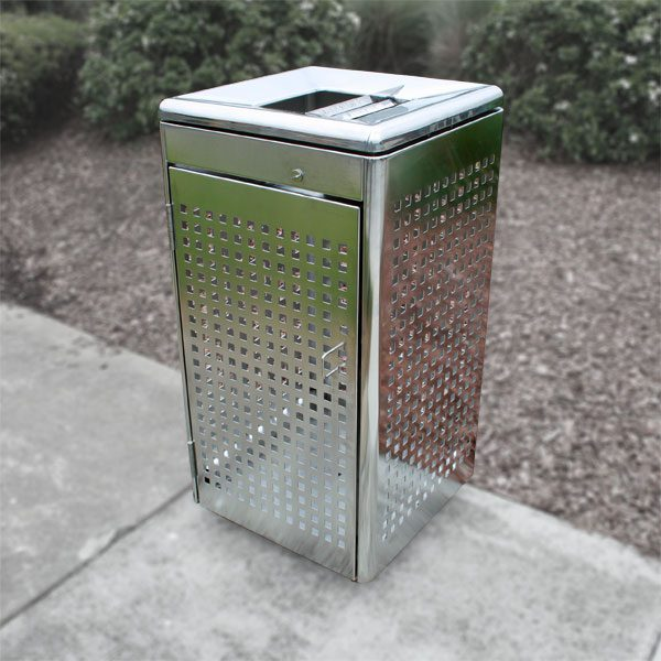 Melbourne City Council Stainless Bin Surrounds