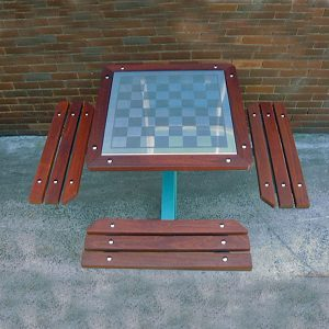 Chess table setting