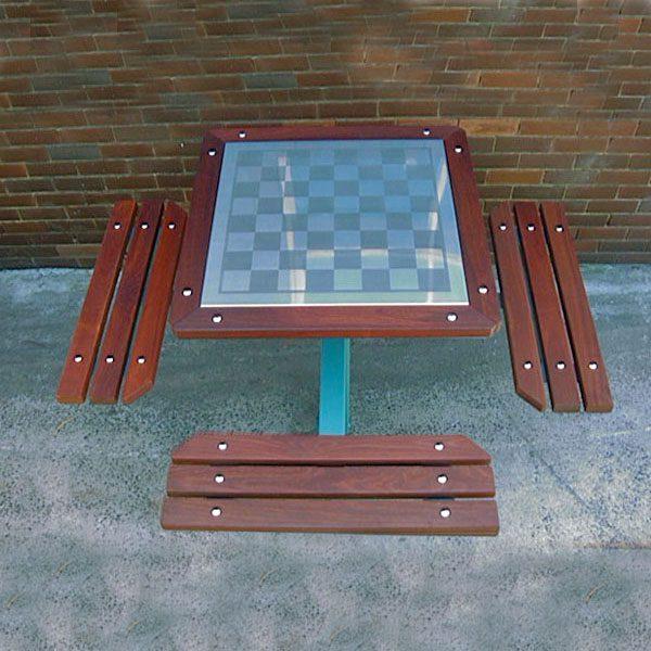 Heavy Duty Chess Table