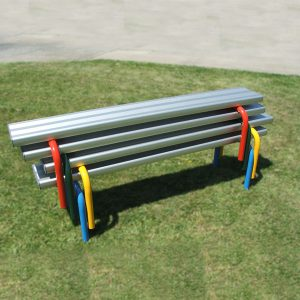 Stackable Aluminium Seats