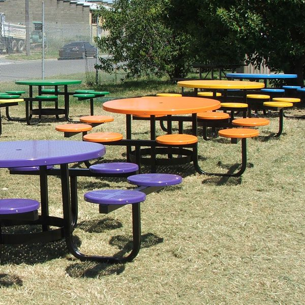 Satellite Cafe Table Setting