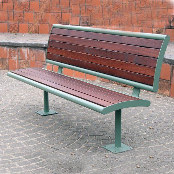 Monbulk Seat with back, no armrests