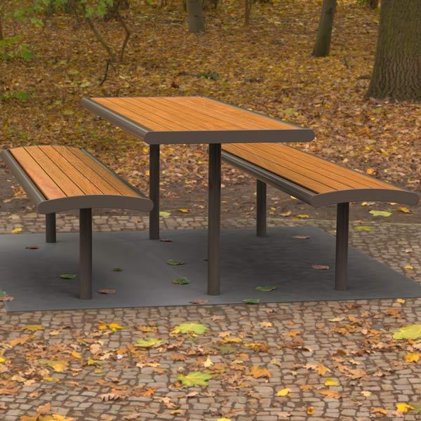 Monbulk Park Picnic Table setting