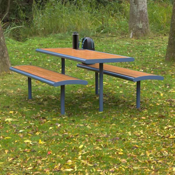 Monbulk Table, Heavy Duty park setting