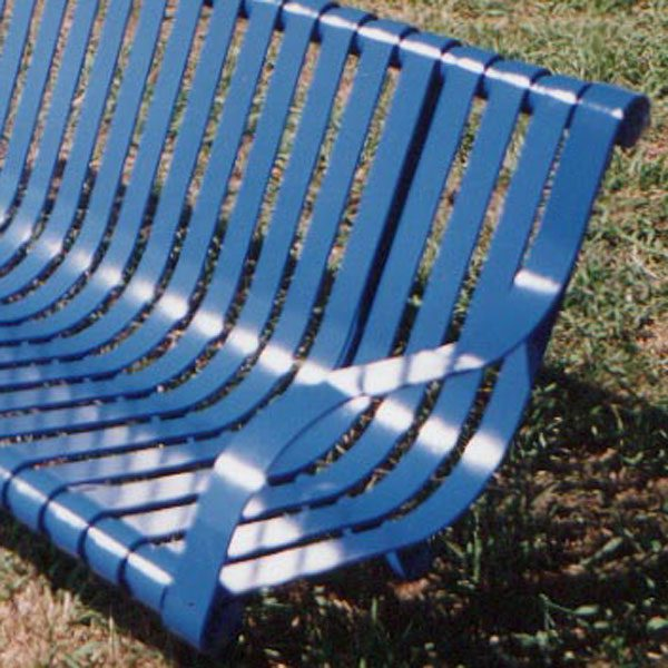 Heavy Duty Steel Slatted Seat