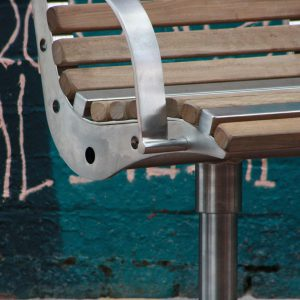 Monash Stainless Steel Swivel Seat