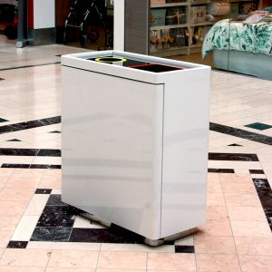 Dual Internal Recycling Bin