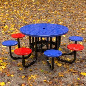 8 Seat Round Picnic Setting