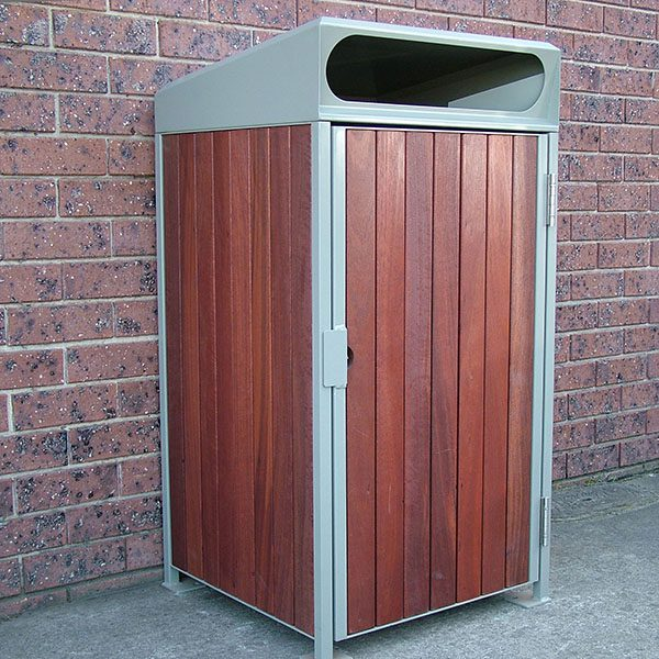 900 Series Sloped -Timber Clad Bin Surrounds