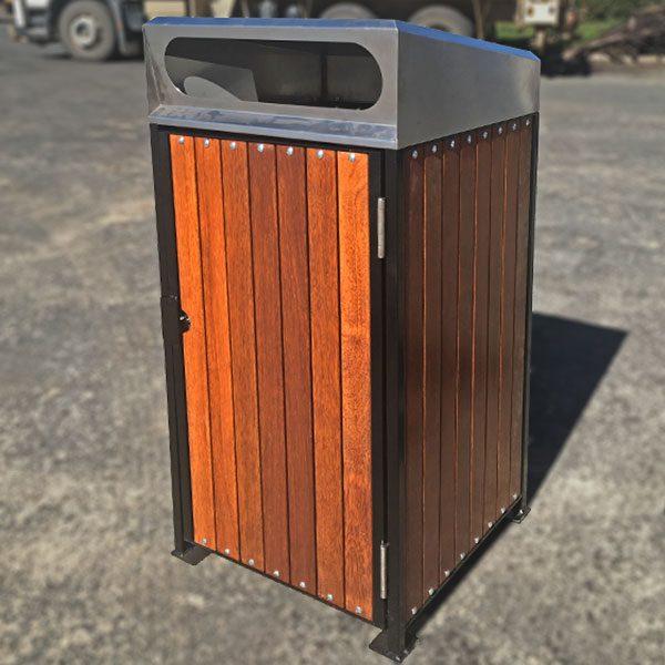 900 Series Pyramid/Flat -Timber Clad Bin Surrounds