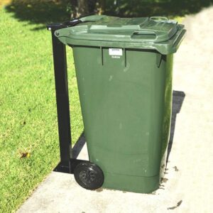 Single Wheelie Bin Post