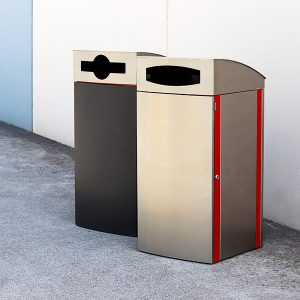 888 iNfinity Series Bin Surround with Curved Cover