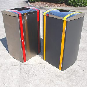 888 iNfinity Series Bin Surround with Domed Cover