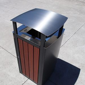 Infinity Series bin with canopy