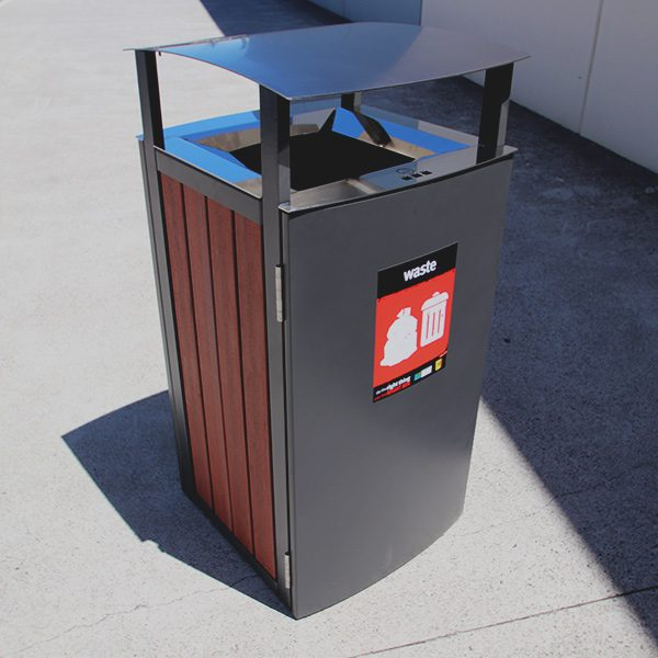 888 iNfinity Series Timber Bin Surround with Canopy