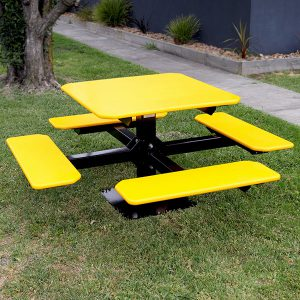 Recycled Plastic Square Picnic Setting