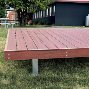 Composite timber Avalon platform