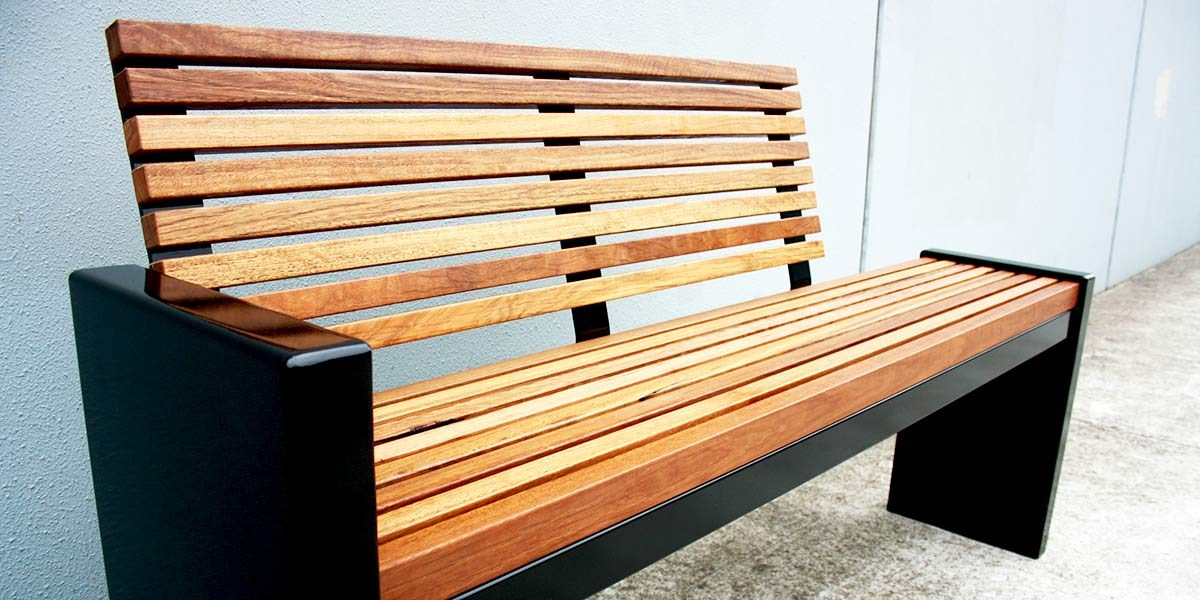 Monash custom timber seat