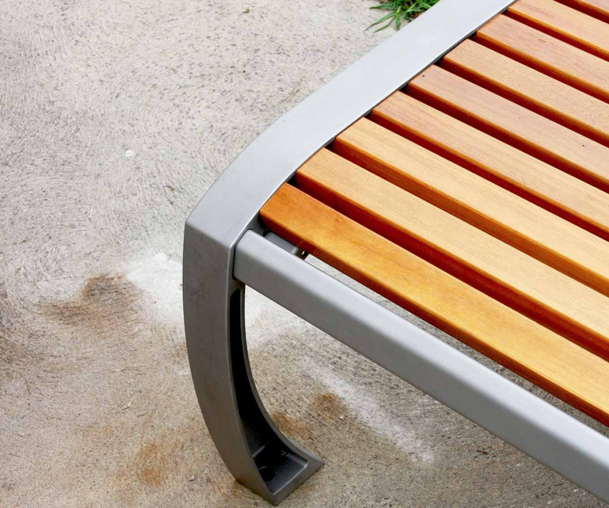 Battens in spotted gum