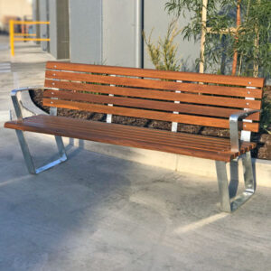 Park Seat - Kiama Seat with back