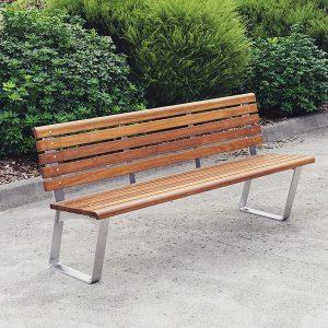 Kiama Seat with Back