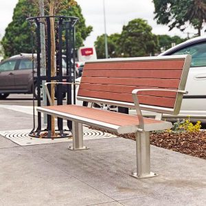 Commercial outdoor seat