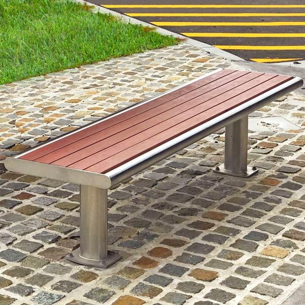 Brisbane slim bench seat