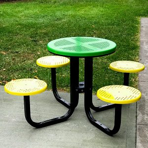 Outdoor Cafe table setting