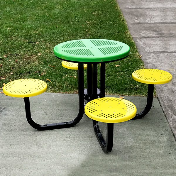 Four Seat Satellite Cafe Table Setting