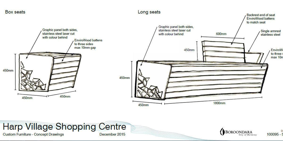 Newcastle seat concept