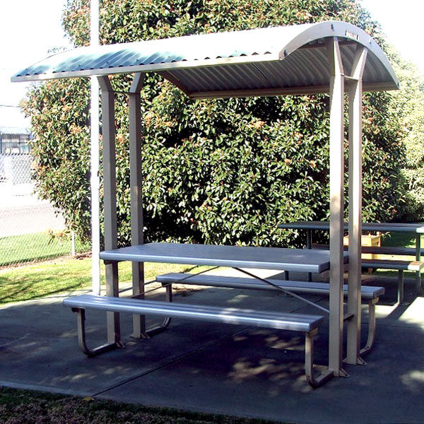sheltered table
