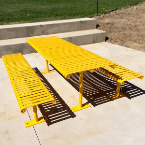 Barwon Heavy Duty Steel Slatted Picnic Setting