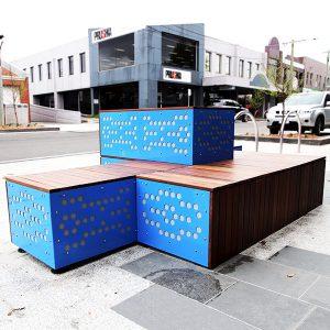 Modular Block Seat