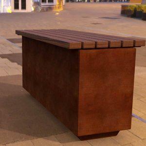 Hamilton bench seat