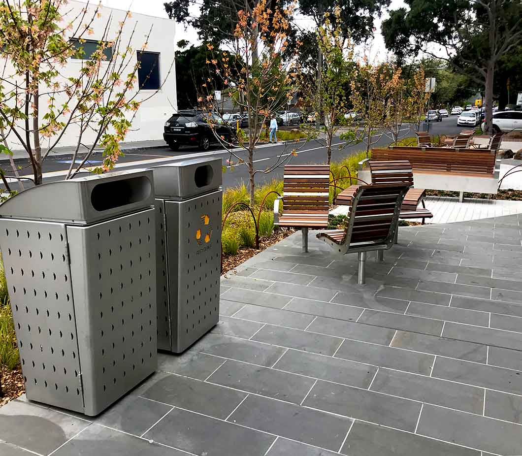 City of Boroondara bin enclosures