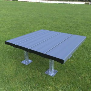 Aluminium Platform Bench