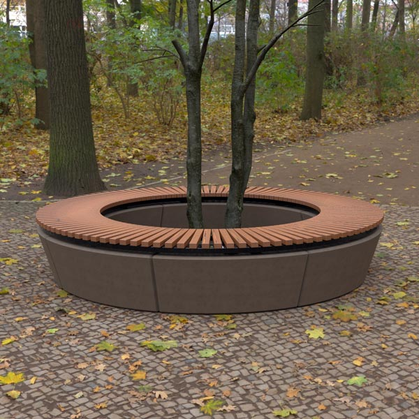 Wandin Concave Bench