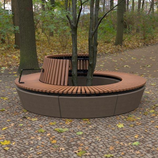 Wandin Semi Circular Seat