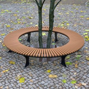 Wandin Semi Circular Timber Bench